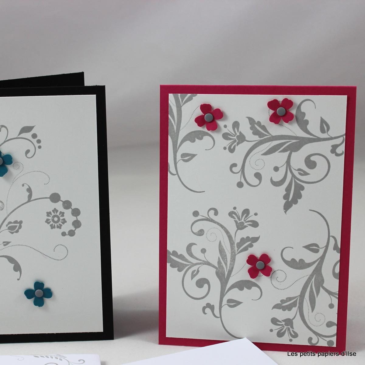Cartes fleuries ancienne version