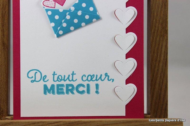 Photo de la carte merci de tout coeur