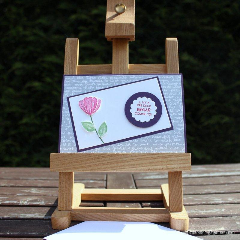 Photo de la carte du blog des démonstratrices printemps floral