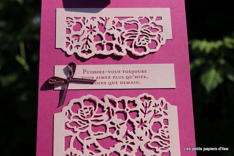 Photo du bloc-notes pour les mariés