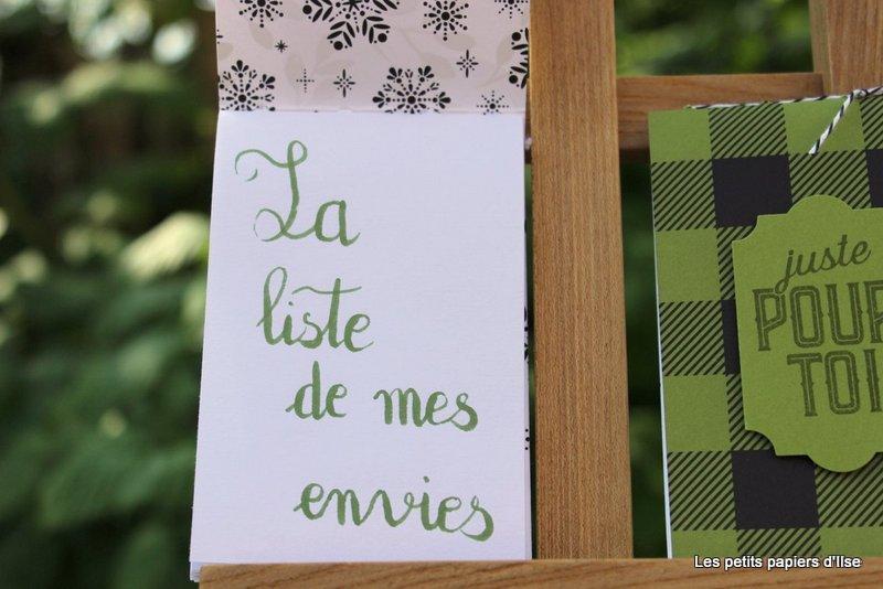 Photo du mini cahier maison