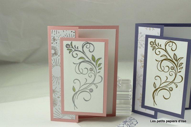 Photo des cartes de voeux fleurs d'hiver