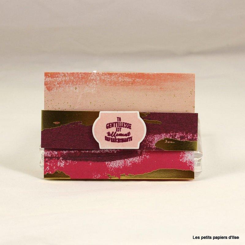 Photo du porte carte cadeau pétillant