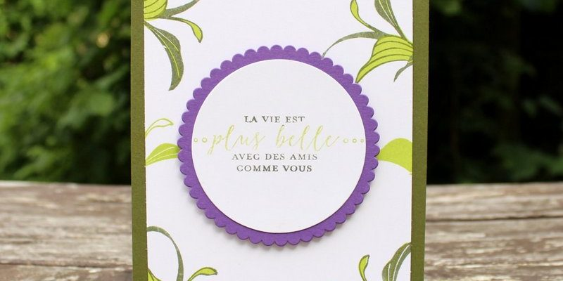Photo du blog-hop des Stampin' Girls de mai 2018
