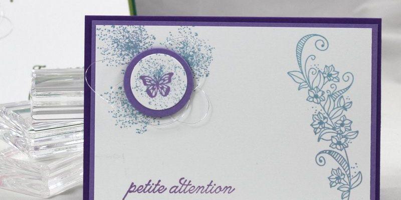 Photo de la carte petite attention et papillon