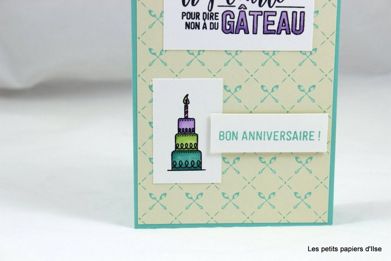 Photo de la carte blog hop de lignée anniversaire