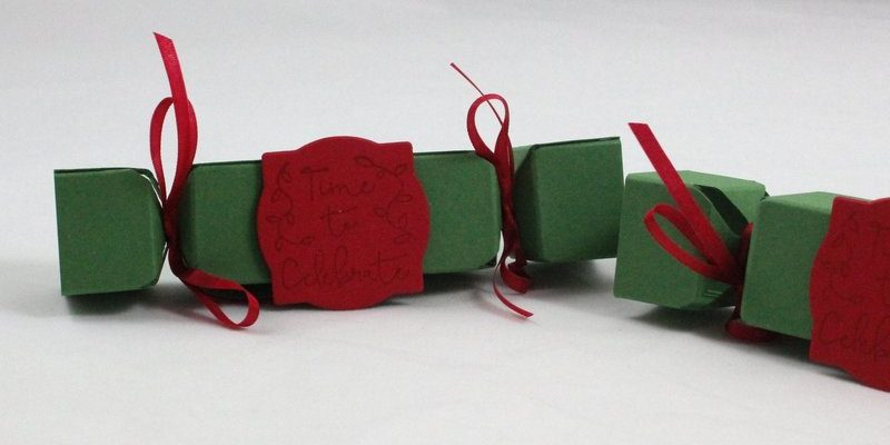 Photo des mini christmas crackers