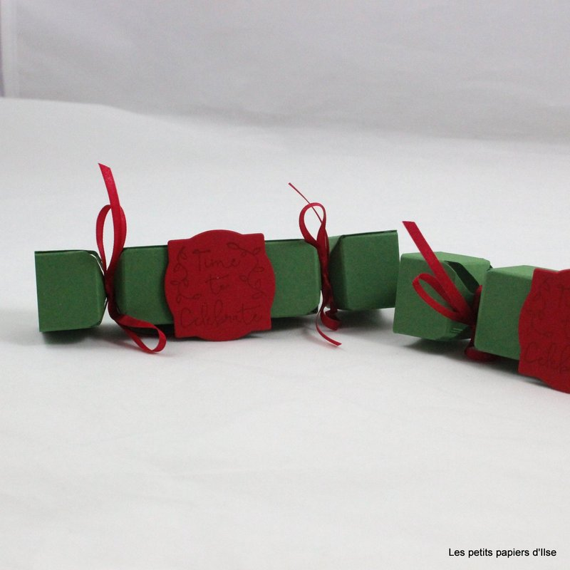 Photo des mini christmas crackers