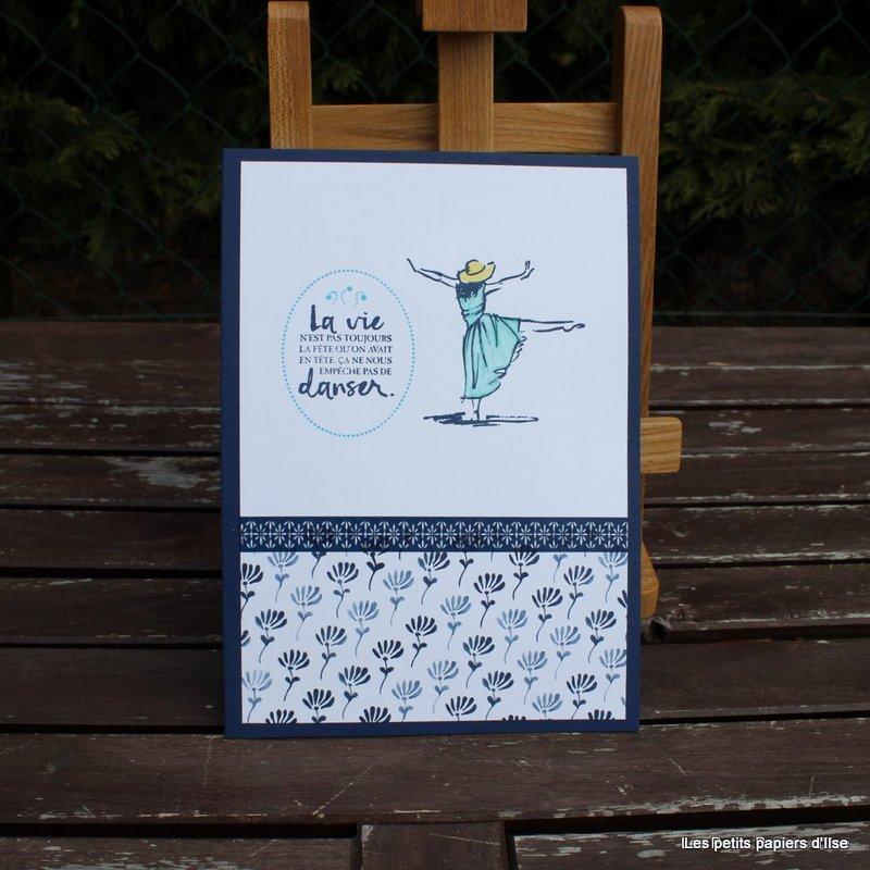 Photo du bloc-notes danse crayonnée
