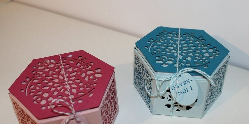 Photo des boites hexagonales jardinières