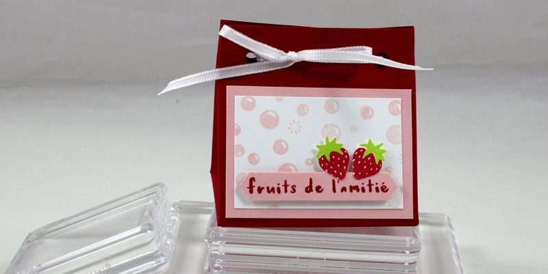 Photo de la mini pochette fruitée