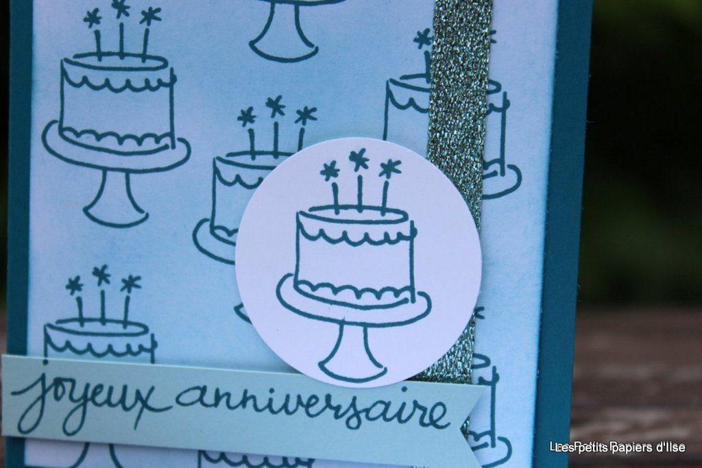 Détail de la carte gâteaux à foison