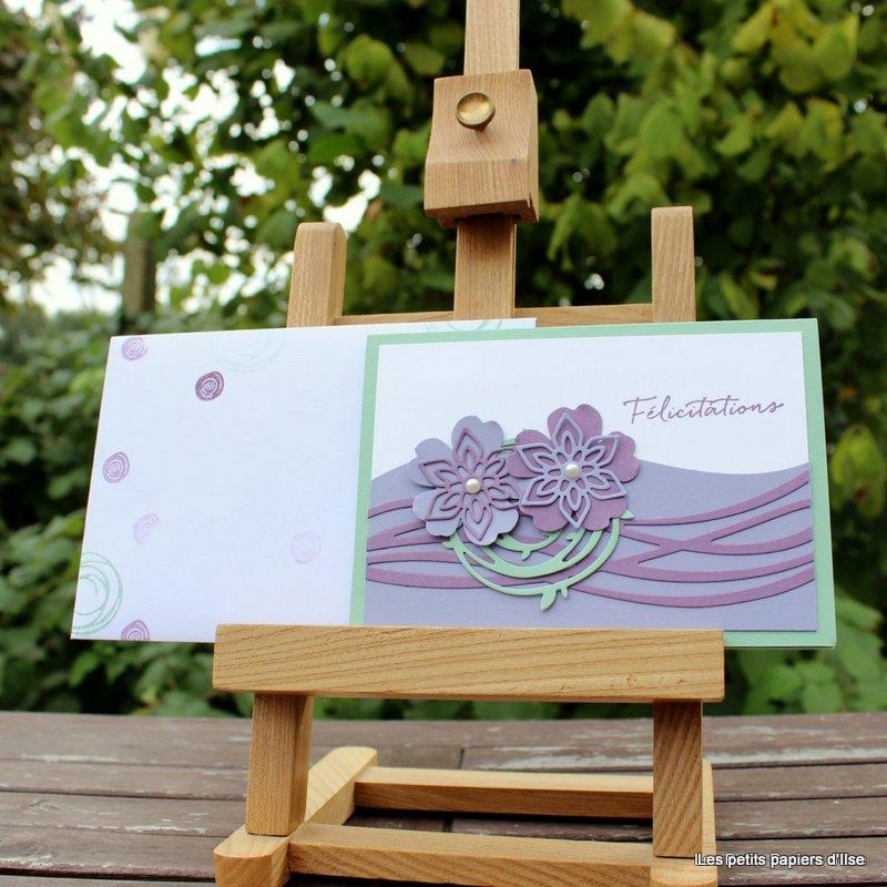 Photo de la carte félicitations florales
