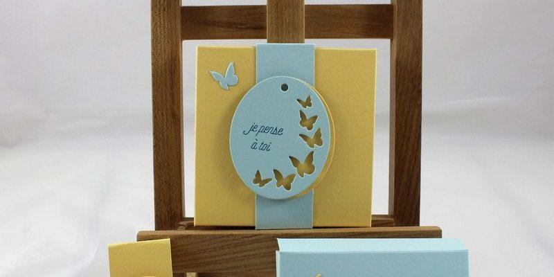 Photo de la boite à carte étiquettes intemporelles