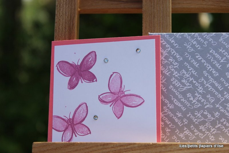 Détail des cartes à bonheurs jardin florissant