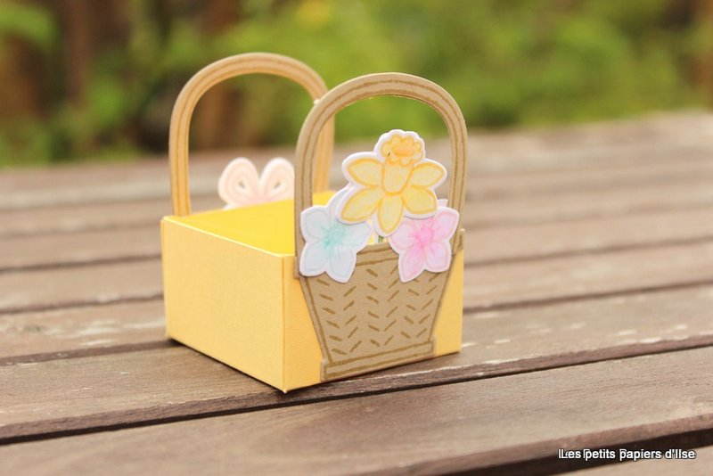 Photo de la boite panier de printemps