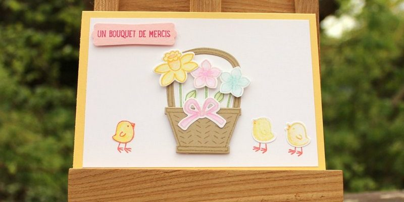 Photo de la carte panier de printemps