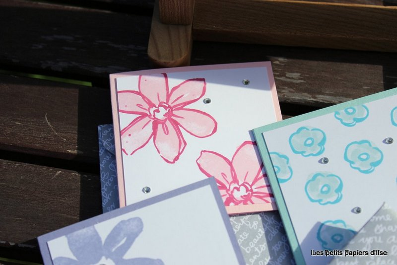 Photo des cartes à bonheurs jardin florissant