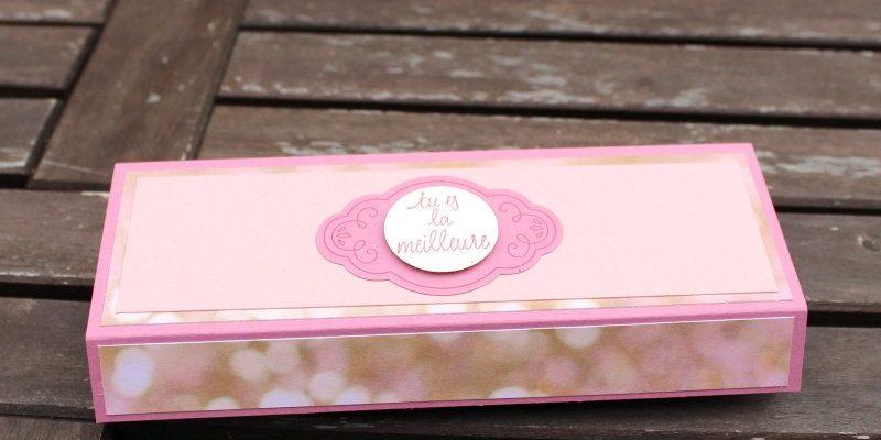 Photo de la boite à bijoux compartimentée