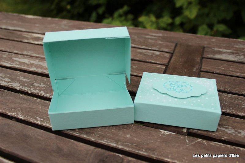 Photo de la boite fabriquée pour toi