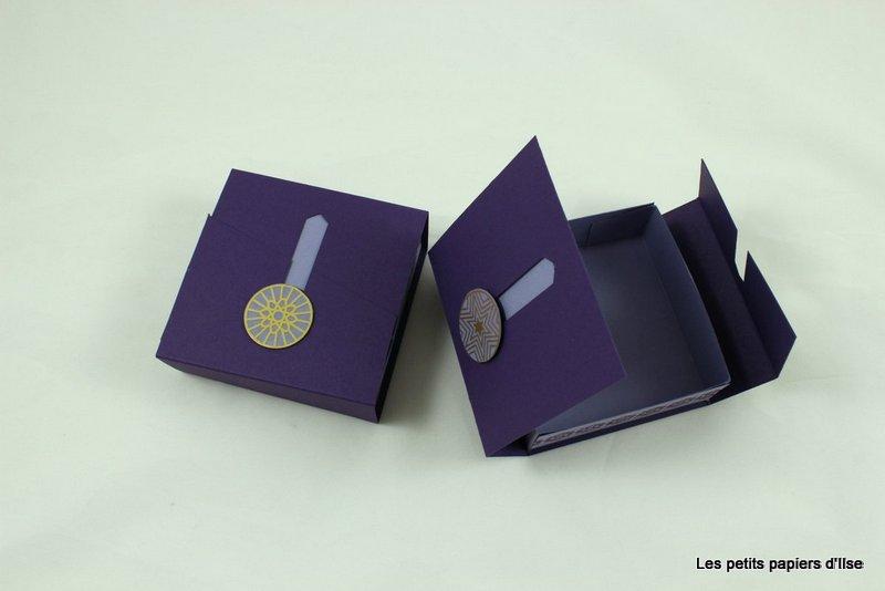 Photo de la boite à ouverture à glissière