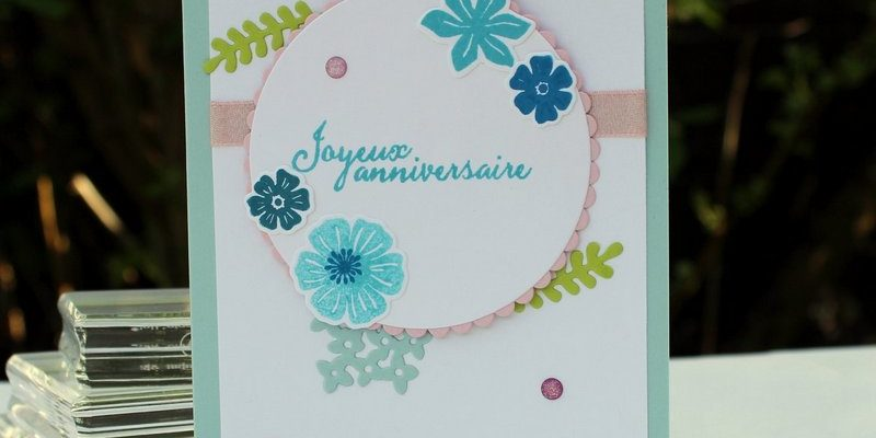 Photo de la carte ravissant bouquet d'anniversaire