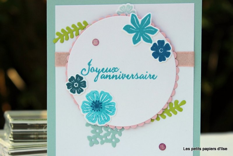 Photo de la carte ravissant bouquet d'anniversaire