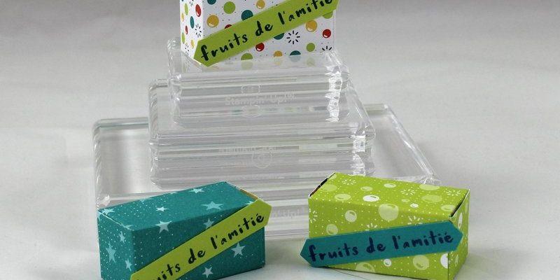 Photo des mini boites à oeufs de Pâques