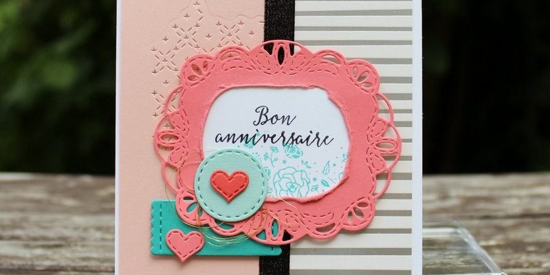 Photo de la carte d'anniversaire de Virginie