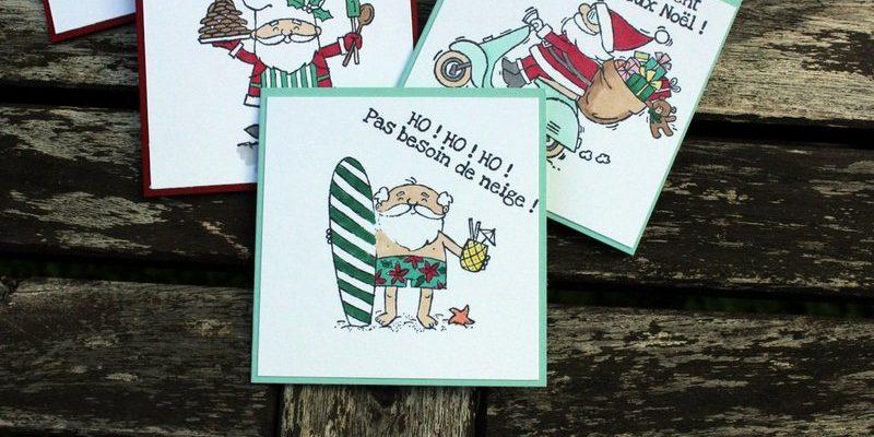 Photo des cartes à bonheurs de noël amusantes
