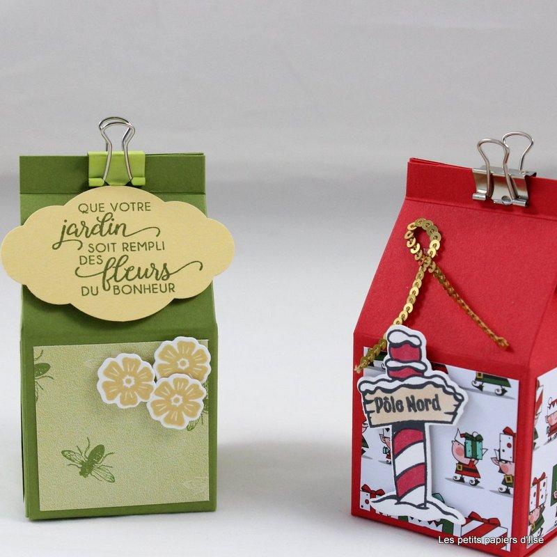 Photo du mini carton pour friandises