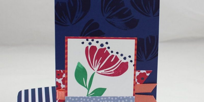 Photo de la carte on stage bonheur et fleur