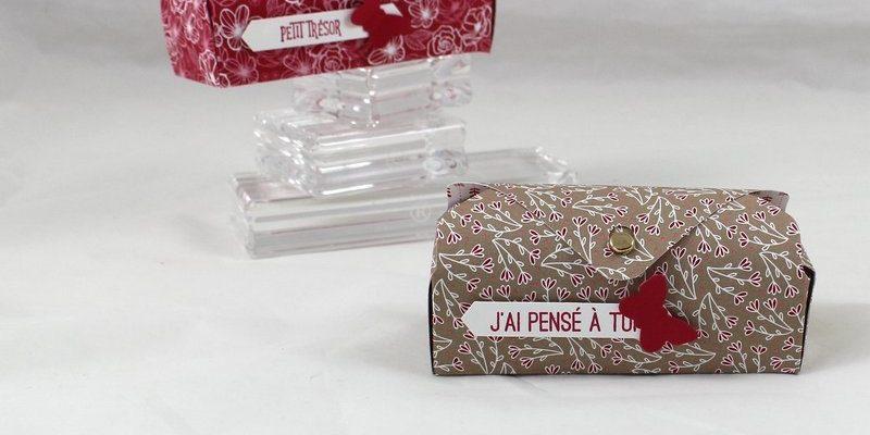 Photo de la mini boite à trésor