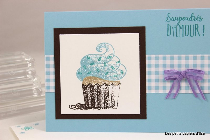 Photo de la carte simple au cupcake