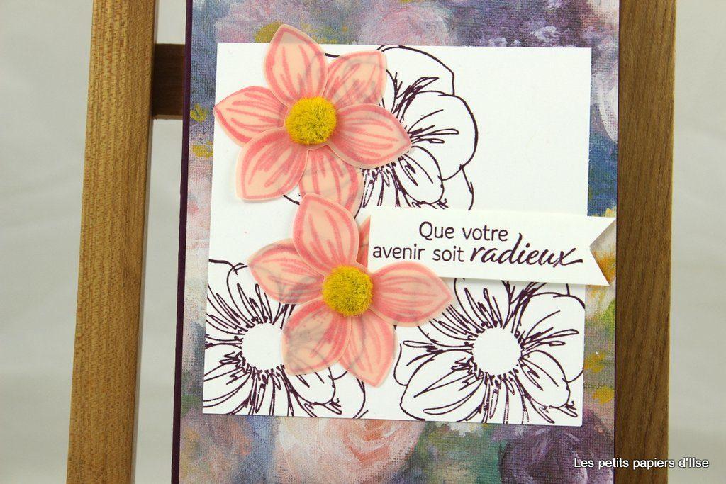 Détail de la carte on-Stage essence florale