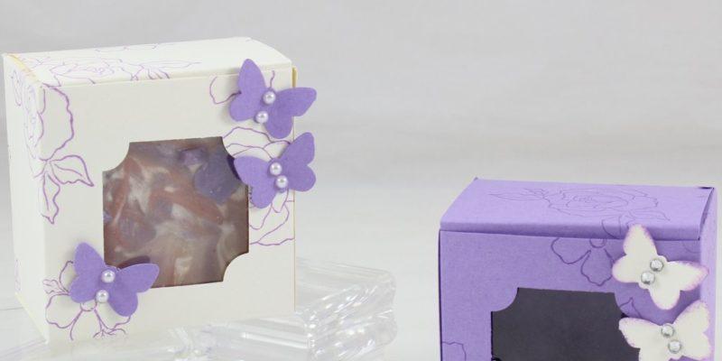 Photo de la boite à fenêtre pour savon