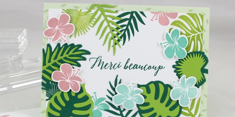 Photo de la carte merci tropical
