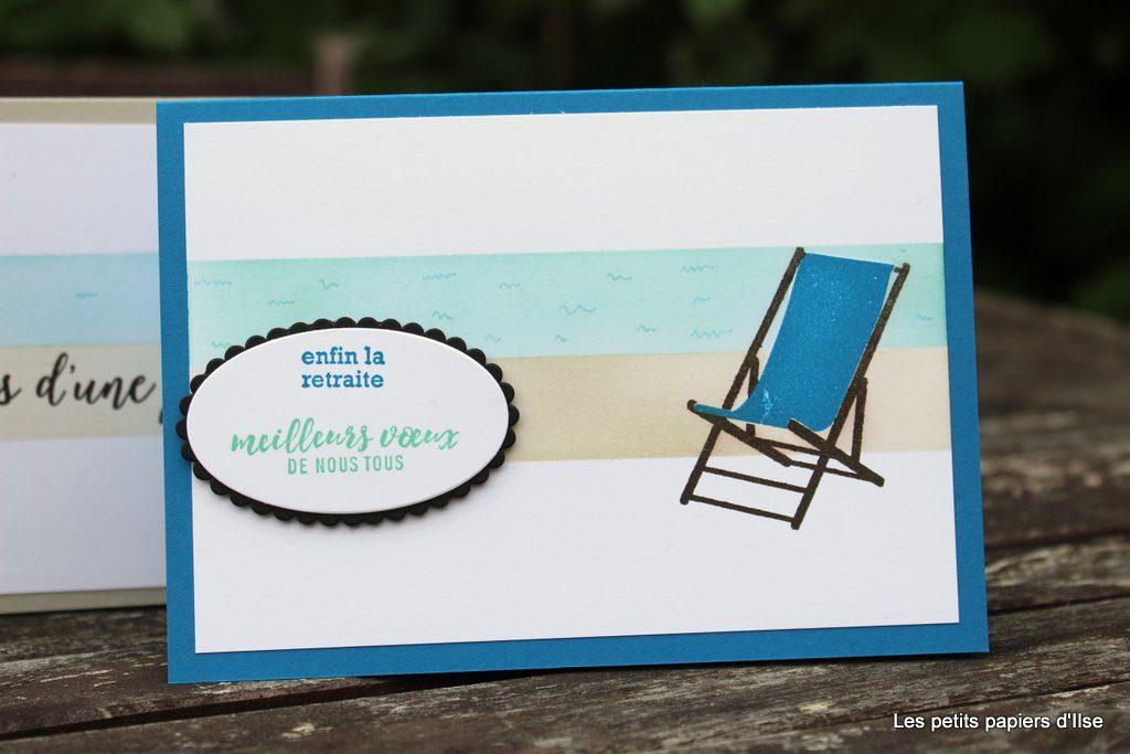 Détail de la carte pause à la plage