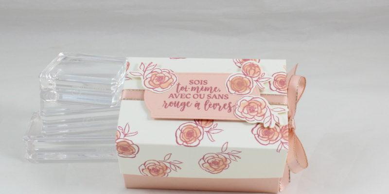 Photo de la boite cadeau pour vernis