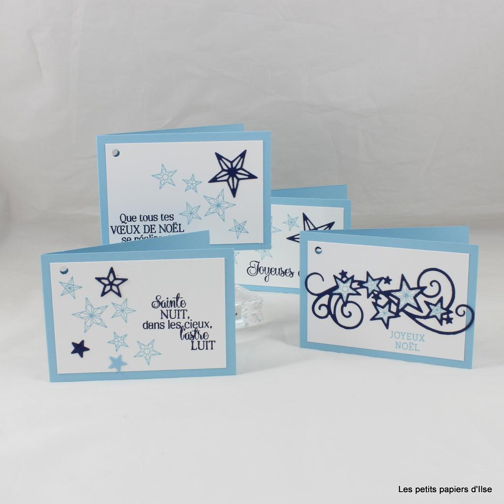 Photo des étiquettes cadeaux étoilées