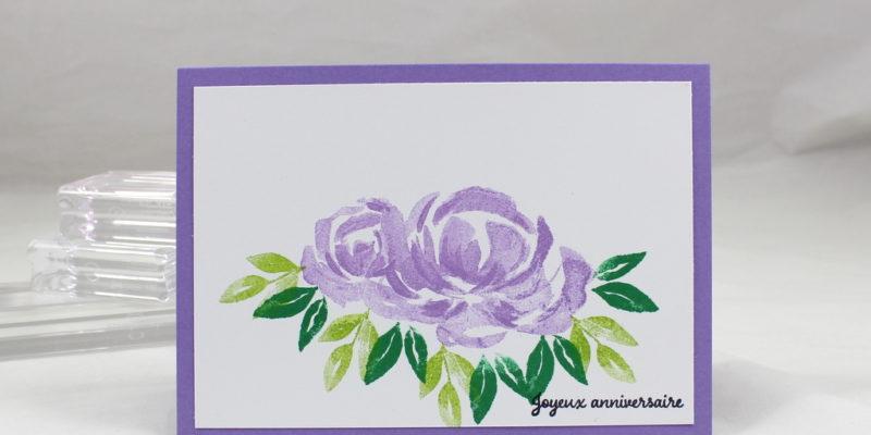 Photo de la carte de remerciement à mes clientes de décembre
