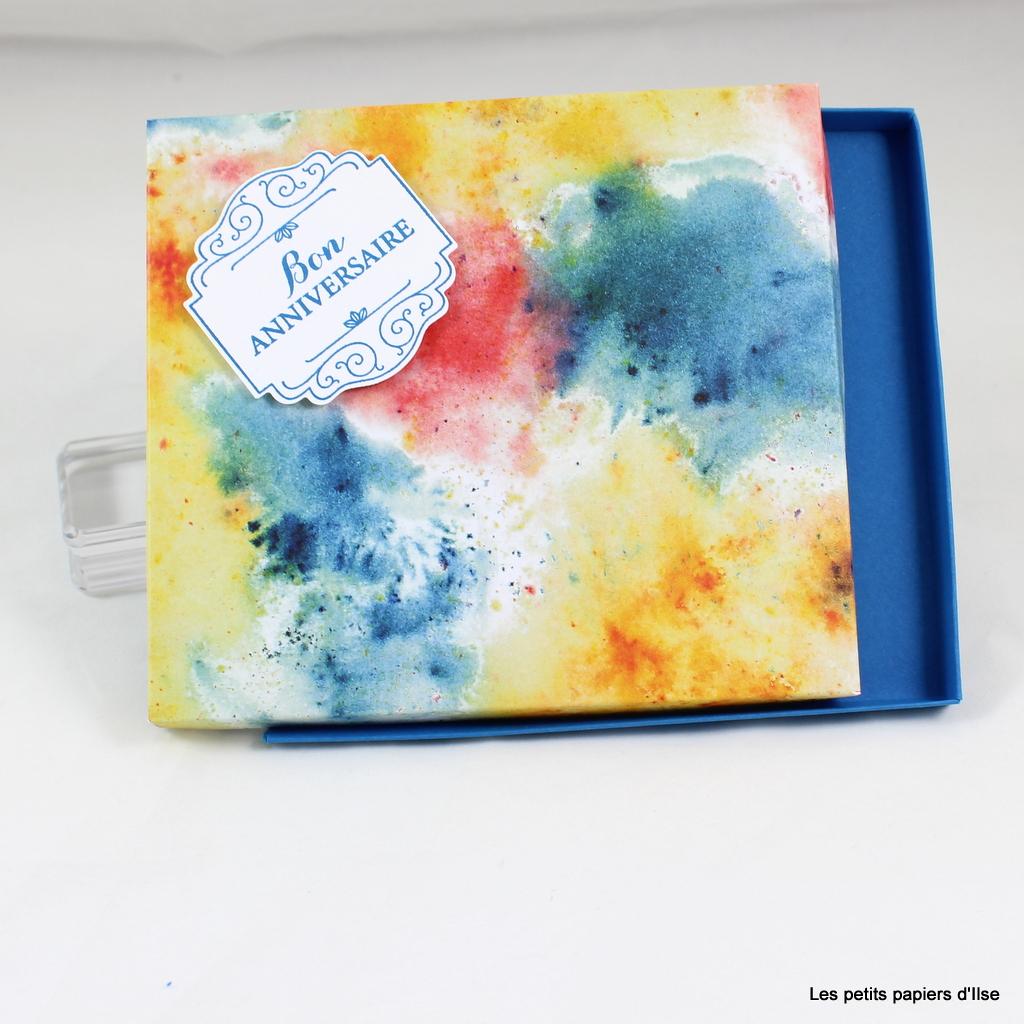 Photo de la boite cadeau facile pour CD