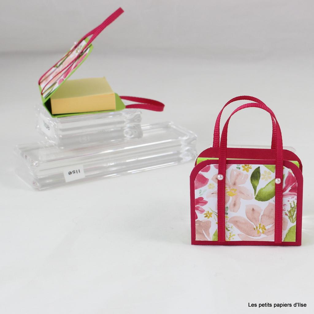 Photo du mini sac à post-it