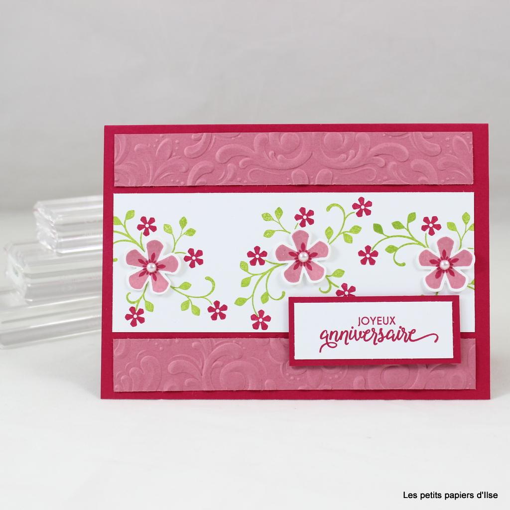 Photo de la carte d'anniversaire fleurs du printemps