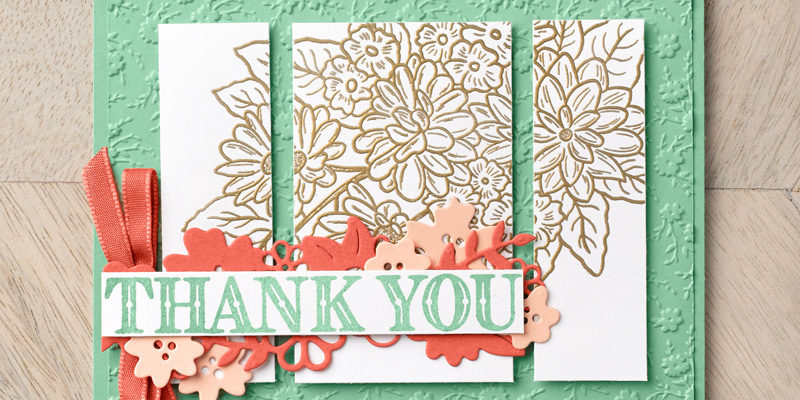 Image de Stampin'Up! du jardin ornemental