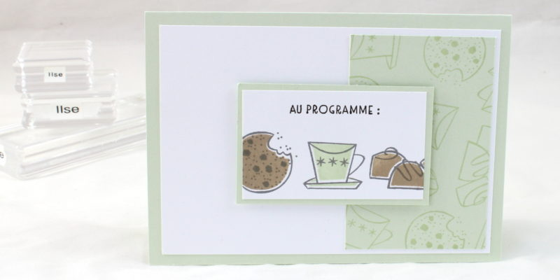 Photo de la carte cookies au programme
