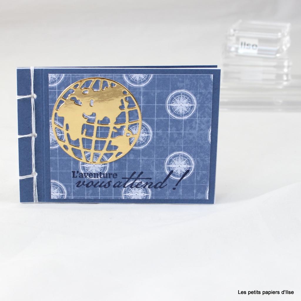 Photo du mini carnet tour du globe