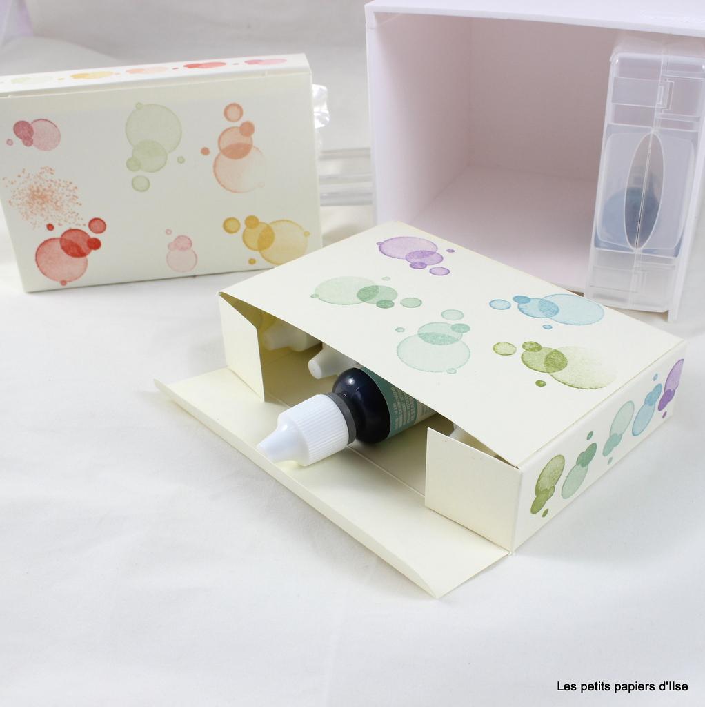 Photo de la boite pour recharges d'encre