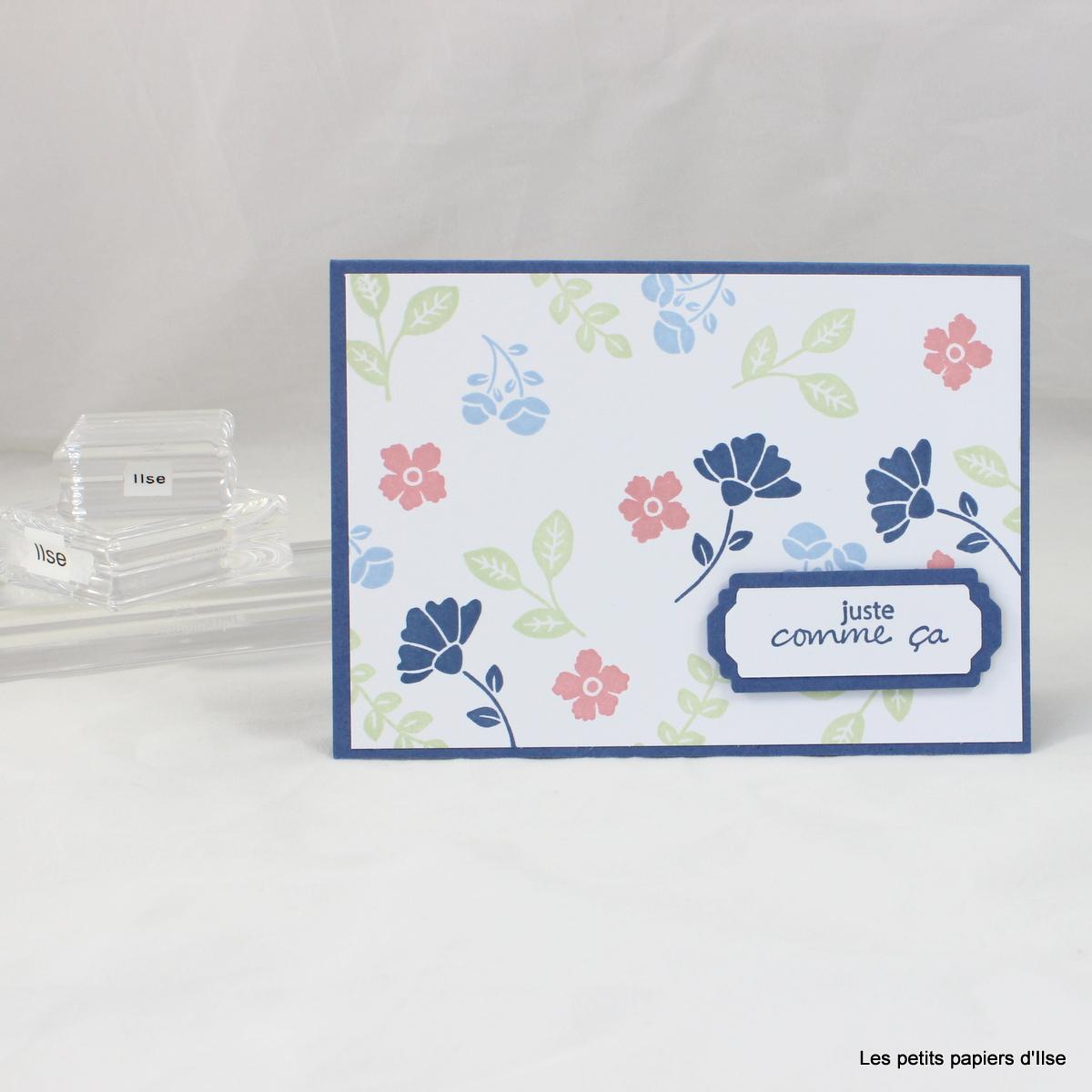 Photo d'une des cartes simples charmantes
