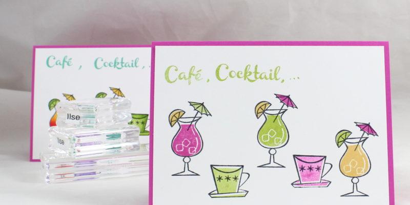 Photo de la carte café ou cocktail